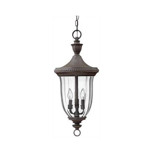 Hinkley Lighting Oxford 3 Light Outdoor Hanging Lantern