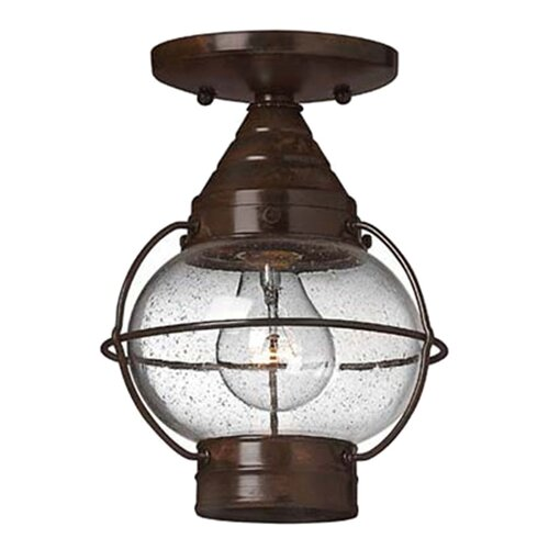Hinkley Lighting Cape Cod Semi Flush Mount