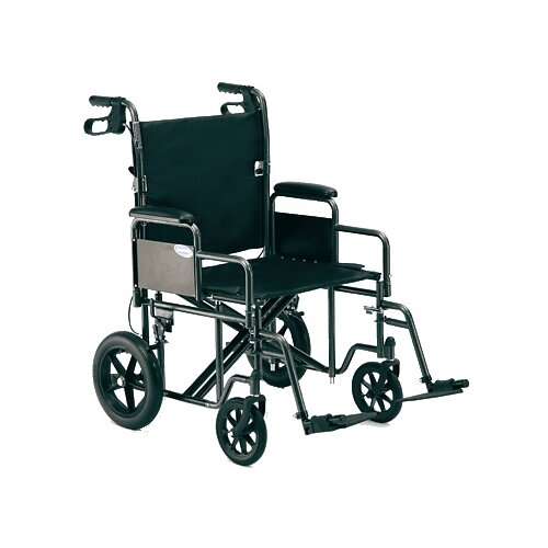 "Invacare 22"" Bariatric Transport Wheelchair"