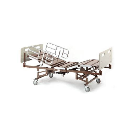 Invacare Bariatric Bed with Half Rails