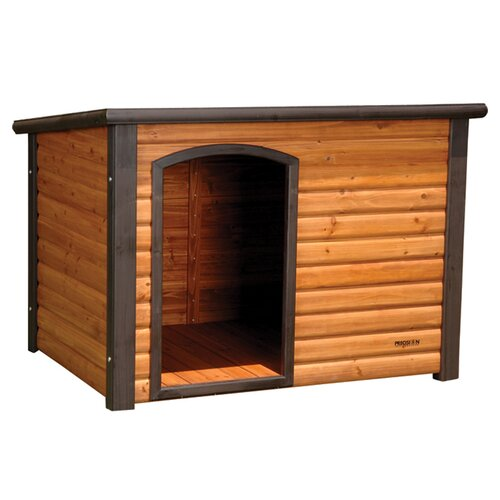 Precision Pet Products Outback Extreme Log Cabin Dog House