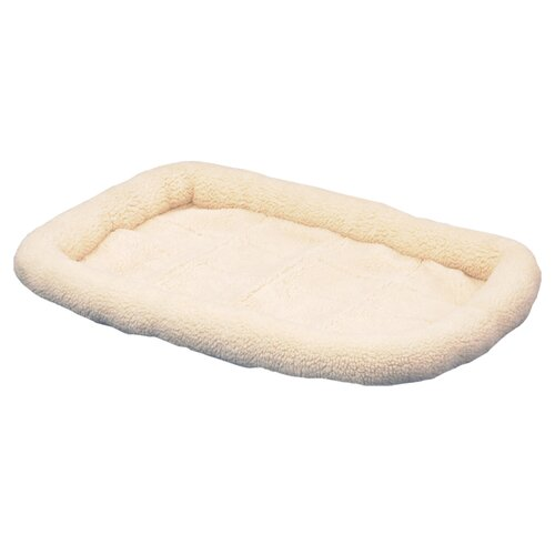 SnooZZy Original Fleece Crate Donut Dog Bed