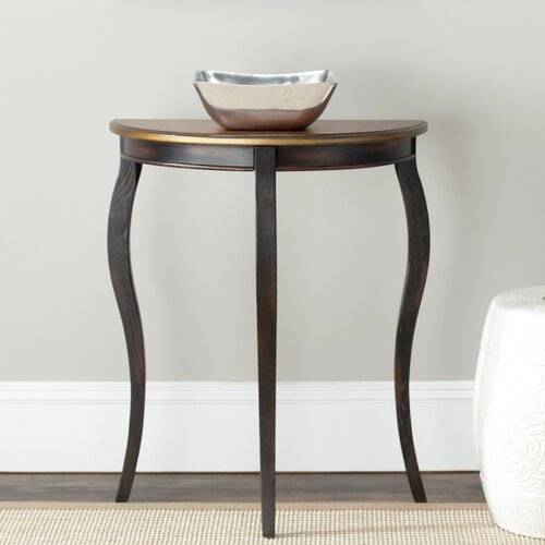 Ava French Demilune End Table