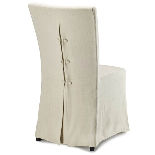 Safavieh Suzie Slipcover Parsons Chair (Set of 2)