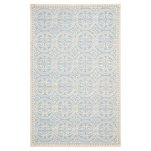 Safavieh Cambridge Light Blue/Ivory Rug