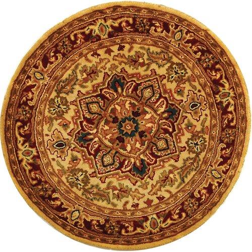 Safavieh Classic Heriz Light Gold/Red Rug
