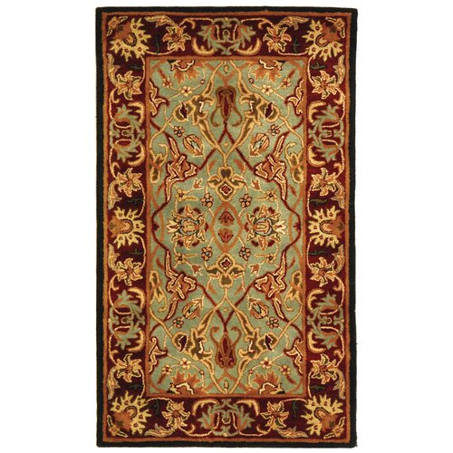 Safavieh Heritage Light Blue/Red Rug