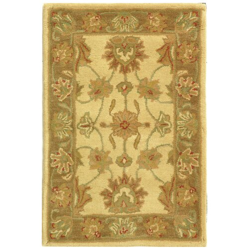 Safavieh Heritage Ivory/Brown Rug