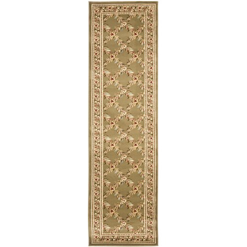 Safavieh Lyndhurst Green/Green Checked Rug
