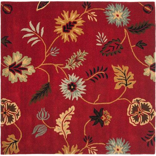 Safavieh Jardin Red/Multi Floral Rug