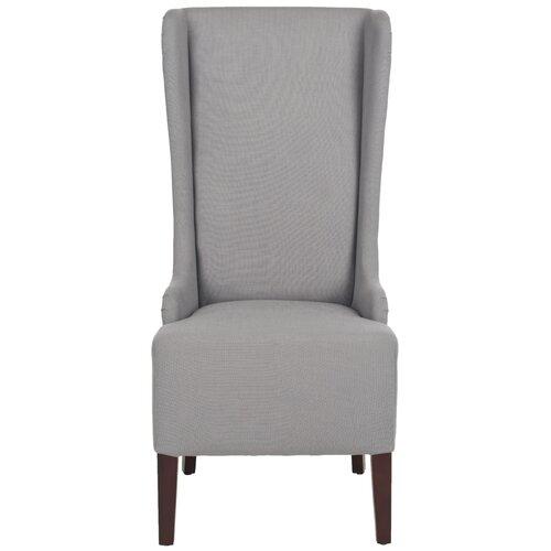 high back fabric dining chairs wayfair