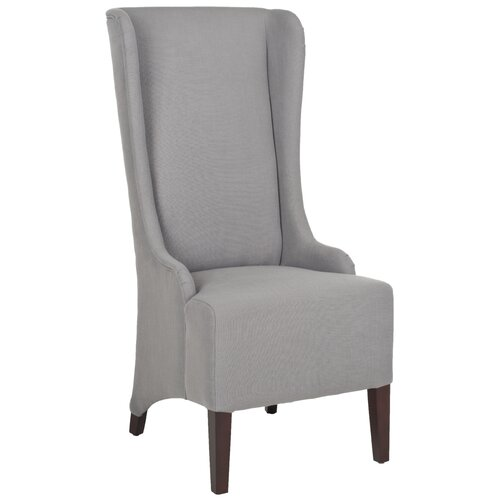 High back fabric dining chairs wayfair for High back fabric dining room chairs