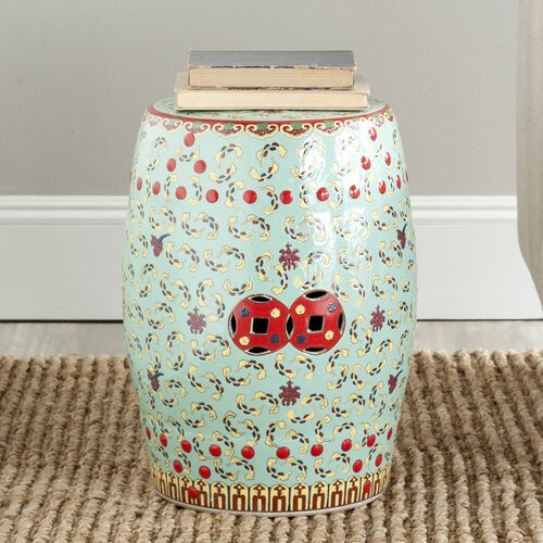 Safavieh Chinese Floral Stool