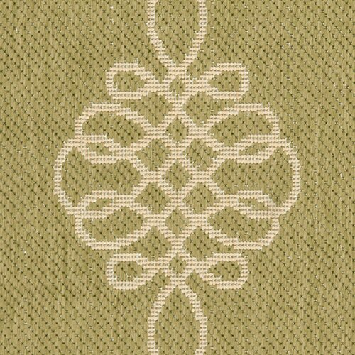 Safavieh Courtyard Green/Creme Indoor/Outdoor Rug
