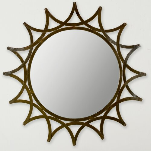 New Mayan Star Mirror