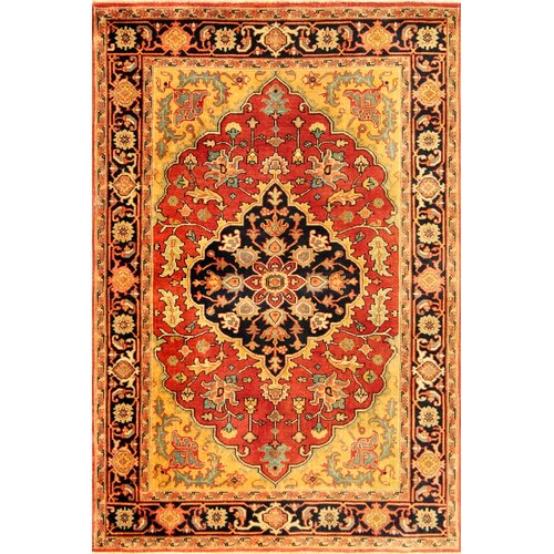 Heriz Red / Multi Colored Rug