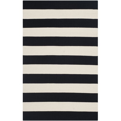 Safavieh Montauk Black White Striped Contemporary Area Rug Review