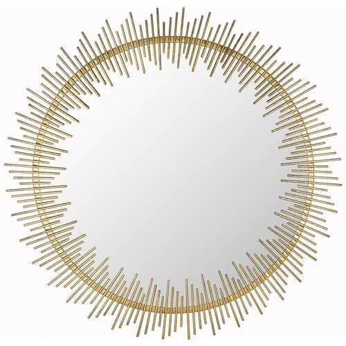 Sunray Circle Mirror
