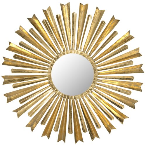 Golden Arrows Sunburst Mirror