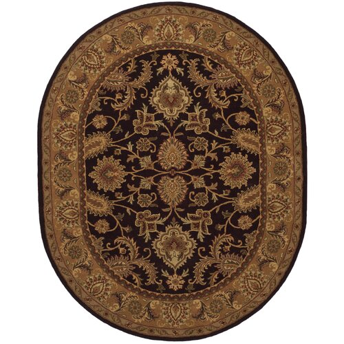 Safavieh Classic Dark Plum/Gold Rug