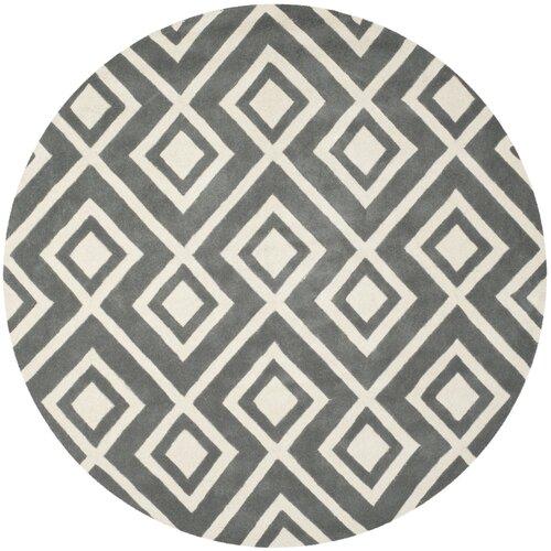 Safavieh Chatham Dark Grey / Ivory Rug