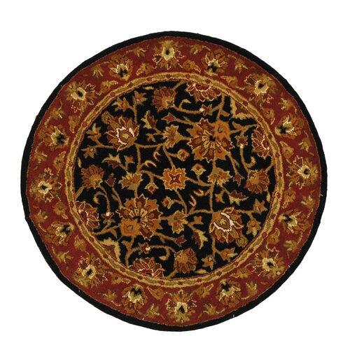 Safavieh Heritage Black/Red Rug
