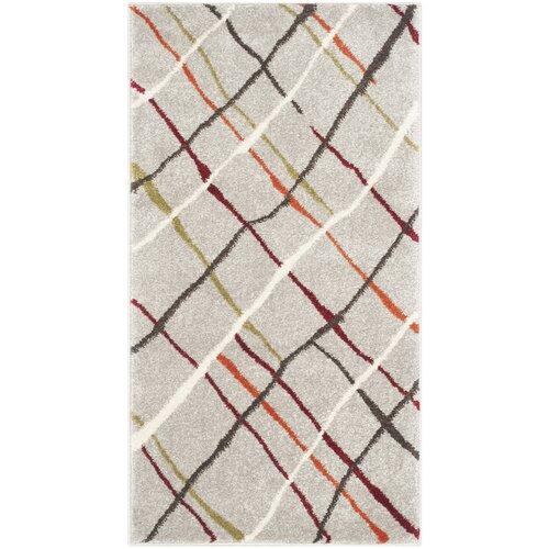 Porcello Grey / Multi Contemporary Rug