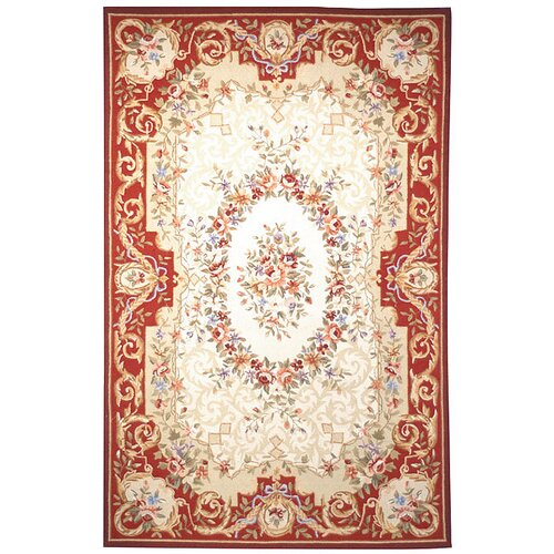 Safavieh Chelsea Ivory/Red Empire Rug