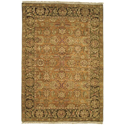 Safavieh Old World Gold/Light Green Agra Rug