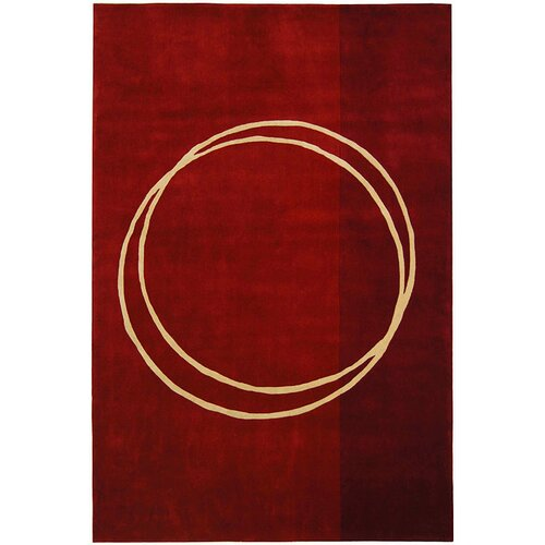 Safavieh Rodeo Drive Red Circle of Life Rug