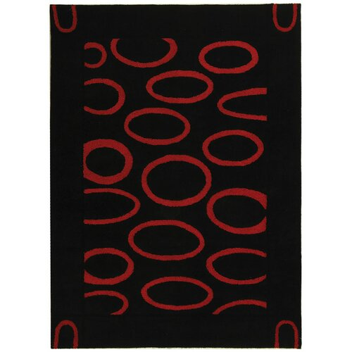 Safavieh Soho Black/Red Rug