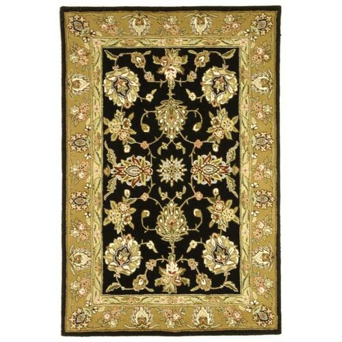 Traditions Masterpiece Black/Gold Rug