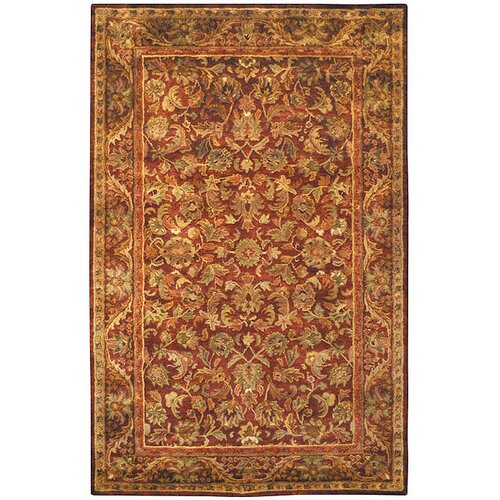 Safavieh Antiquities Majesty Wine/Gold Rug