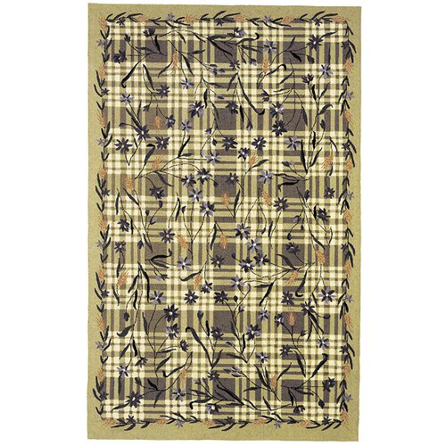 Chelsea Ivy Green Plaid Rug