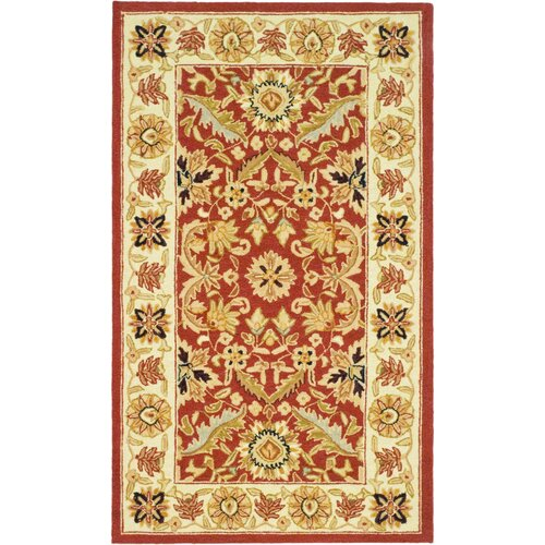 Safavieh Chelsea Red / Ivory Area Rug