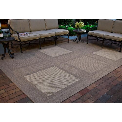 Safavieh Courtyard Large Boxes Outdoor Rug