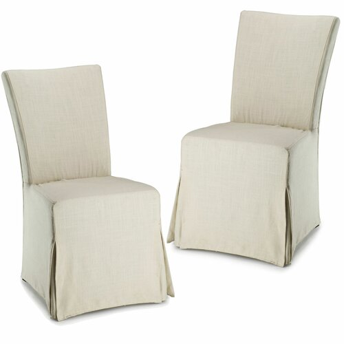 Suzie Slipcover Parsons Chair (Set of 2)