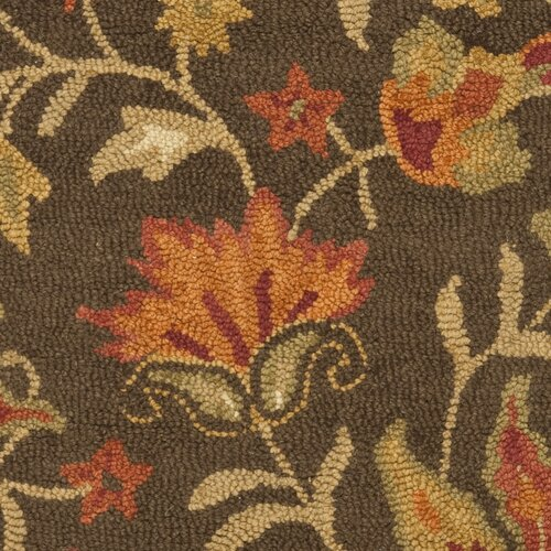 Safavieh Blossom Brown Floral Rug