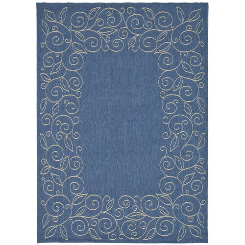 Safavieh Courtyard Blue Outdoor Rug