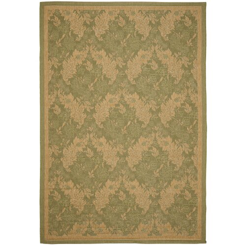 Safavieh Courtyard Green Outdoor Rug