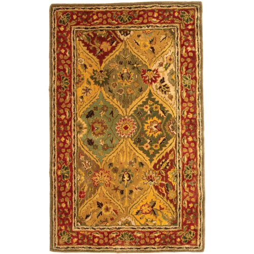 Safavieh Heritage Red Multi Rug
