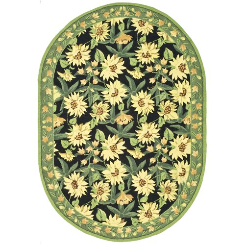 Chelsea Black/Sage Novelty Rug