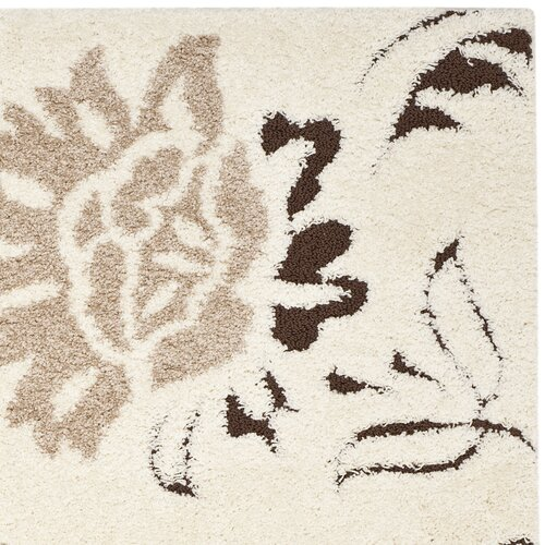 Safavieh Florida Shag Cream Rug