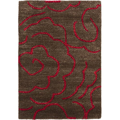 Safavieh Soho Chocolate/Red Rug