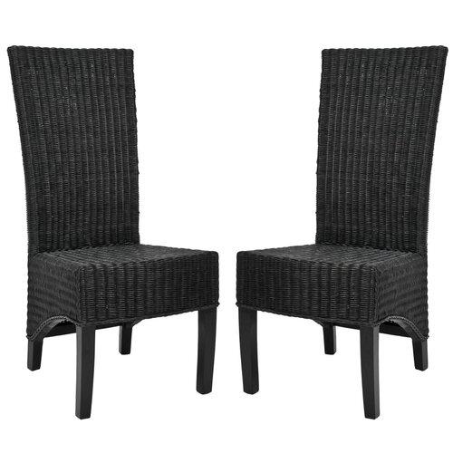 Safavieh Charlotte Wicker Parson Chair