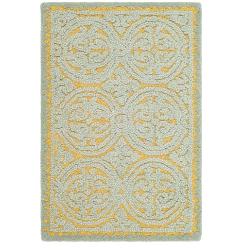 Cambridge Blue/Gold Rug