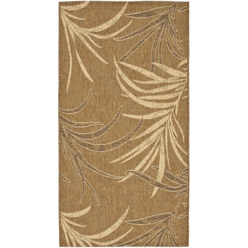 Safavieh Courtyard Gold/Crème Outdoor Rug