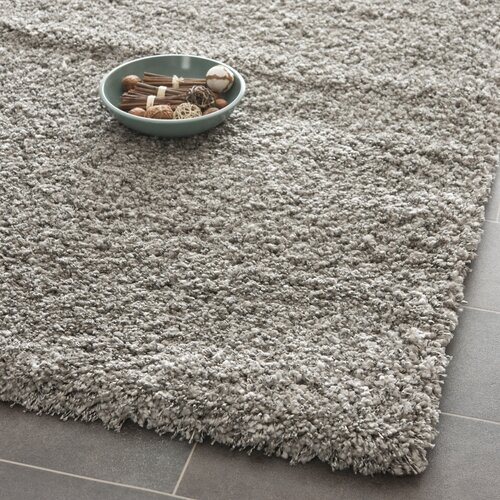 Safavieh California Shag Silver Area Rug Amp Reviews Wayfair