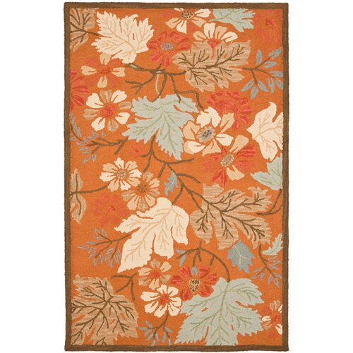 Safavieh Blossom Orange/Multi Rug