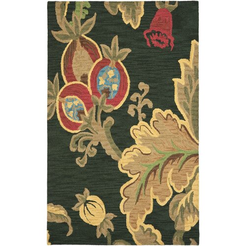 Safavieh Jardin Black/Multi Rug